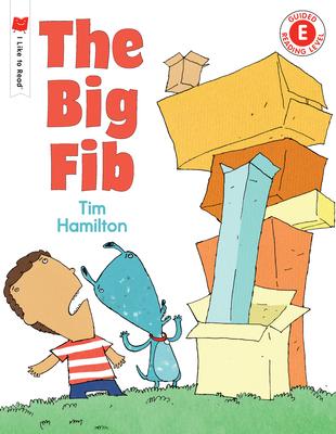 The Big Fib (I Like to Read) Cover Image