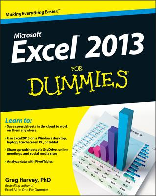 Excel 2013 for Dummies Cover