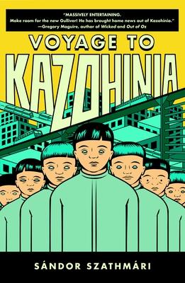 Voyage to Kazohinia Cover