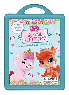 Royal Kittens: A Palace Pets Book and Magnetic Play Set Cover Image