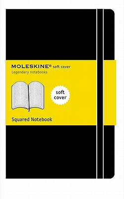Moleskine Classic Notebook, Pocket, Squared, Black, Soft Cover (3.5 x 5.5) (Classic Notebooks) Cover Image