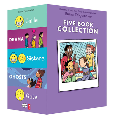 Raina Telgemeier Collection Box Set Cover Image