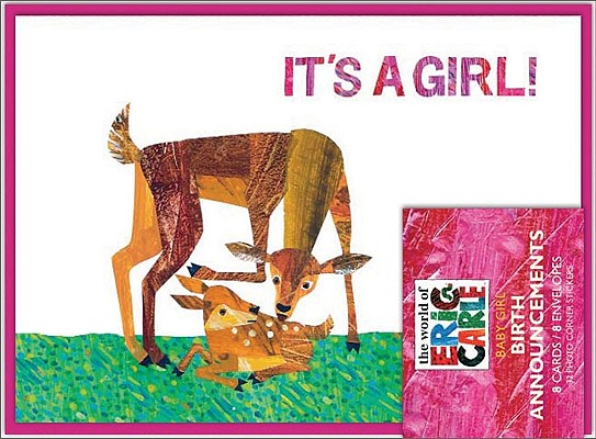 The World of Eric Carle(TM) It's a Girl! Birth Announcements Cover Image
