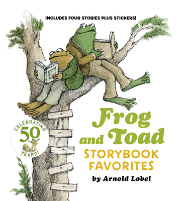 Frog and Toad Storybook Favorites: Includes 4 Stories Plus Stickers! (I Can Read Level 2) Cover Image