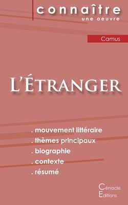 Fiche de lecture L'Étranger de Albert Camus (analyse littéraire de référence et résumé complet) Cover Image