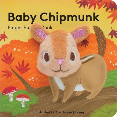 Baby Chipmunk: Finger Puppet Book Cover Image