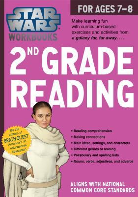 Star Wars Workbook: 2nd Grade Reading (Star Wars Workbooks) Cover Image