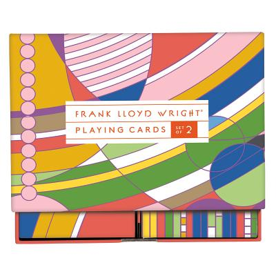 Frank Lloyd Wright Playing Card Set Cover Image