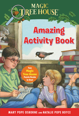 Magic Tree House Amazing Activity Book: Two Magic Tree House Puzzle Books in One! (Magic Tree House (R)) Cover Image