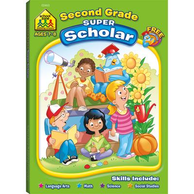 Second Grade Super Scholar Cover Image