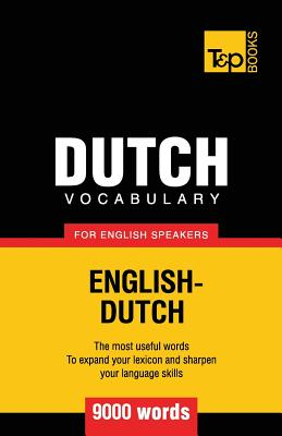 Dutch vocabulary for English speakers - 9000 words Cover Image