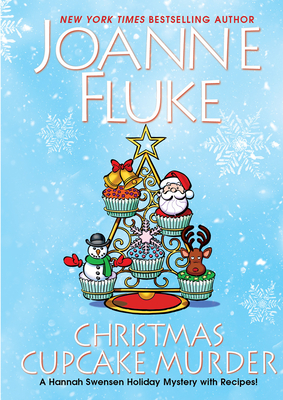 Christmas Cupcake Murder: A Festive & Delicious Christmas Cozy Mystery (A Hannah Swensen Mystery) Cover Image