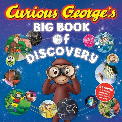 Curious George's Big Book of Discovery Cover Image