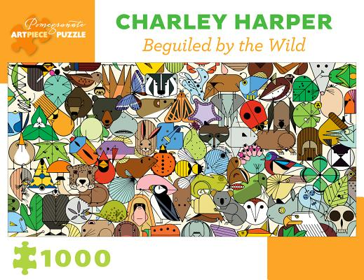 Charley Harper: Beguiled by Wild 1000-Piece Jigsaw Puzzle Cover Image