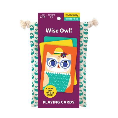 Wise Owl Playing Cards to Go Cover Image