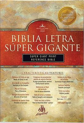 Biblia Letra Super Gigante Con Referencias-Rvr 1960 Cover