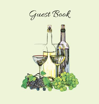 GUEST BOOK (Hardcover), Party Guest Book, Guest Comments Book, House Guest Book, Vacation Home Guest Book, Special Events & Functions Visitors Book: F Cover Image