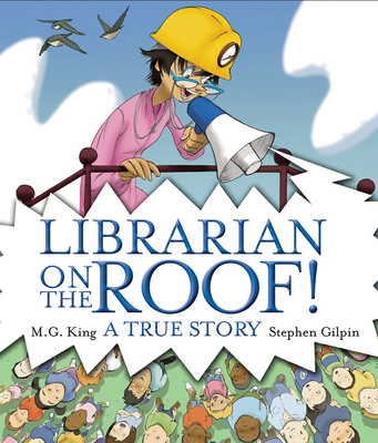 Librarian on the Roof! Cover