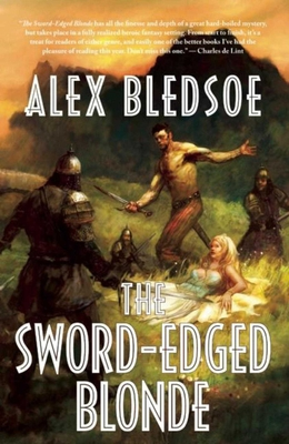 Cover for The Sword-Edged Blonde