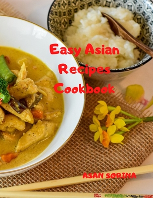 Easy Asian Recipes Cookbook Cover Image