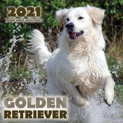 Golden Retriever 2021 Mini Wall Calendar Cover Image