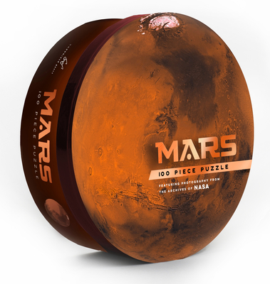Mars: 100 Piece Puzzle: Featuring photography from the archives of NASA (Shaped Space Puzzle, Photography Puzzles, NASA Puzzle, Solar System Puzzle) Cover Image
