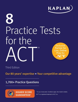Cover for 8 Practice Tests for the ACT