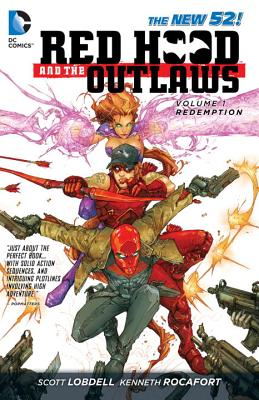 Red Hood and the Outlaws Vol. 1: REDemption (The New 52) Cover Image