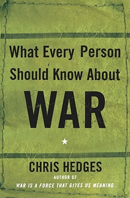 What Every Person Should Know about War Cover