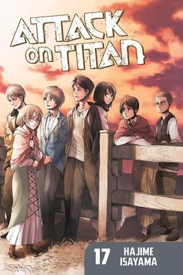 Attack on Titan 17 Cover Image
