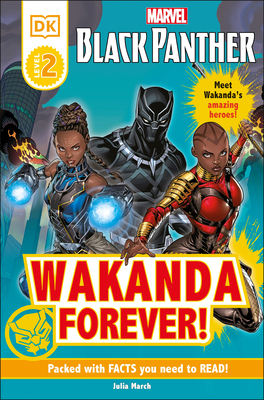 Marvel Black Panther Wakanda Forever! (DK Readers Level 2) Cover Image