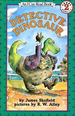 Detective Dinosaur (I Can Read Books: Level 2) Cover Image