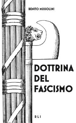 Dottrina del Fascismo Cover Image