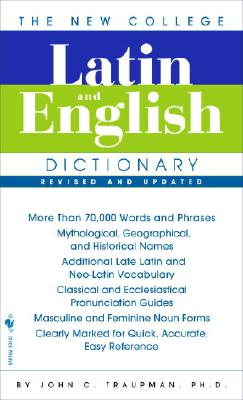 The Bantam New College Latin & English Dictionary Cover