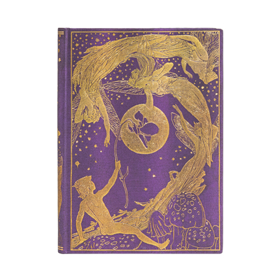 Paperblanks Violet Fairy (Lang's Fairy Books) Hardcover Journal, Lined - MIDI Cover Image