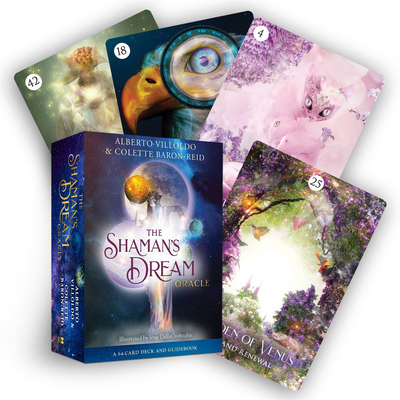 The Shaman's Dream Oracle: A 64-Card Deck and Guidebook Cover Image