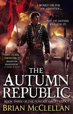 Cover for The Autumn Republic (The Powder Mage Trilogy #3)