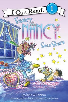 Fancy Nancy Sees Stars Cover Image