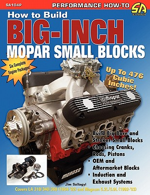 How to Build Big-Inch Mopar Small Blocks Cover Image