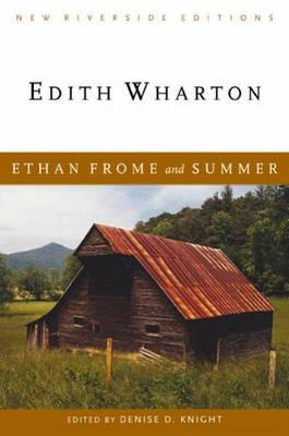 Cover for Ethan Frome and Summer