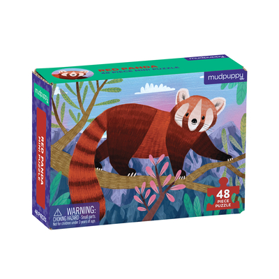 Red Panda Mini Puzzle Cover Image