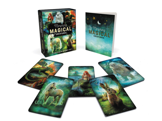 Morphing Magical Creatures: A Lenticular Magnet Set (RP Minis) Cover Image