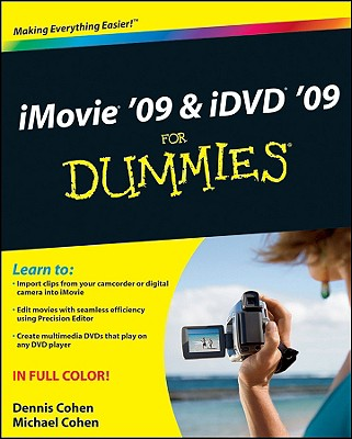 iMovie 09 & iDVD 09 For Dummies  Cover Image