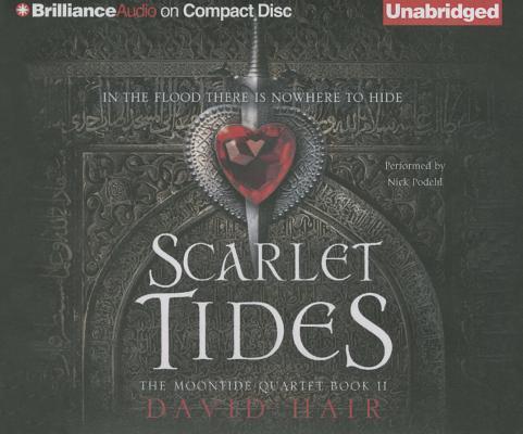 Cover for Scarlet Tides (Moontide Quartet #2)