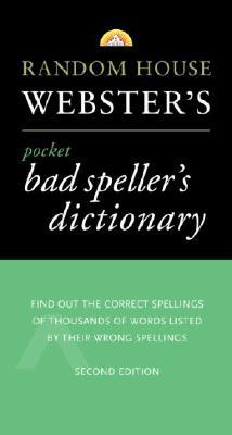 Random House Webster's Pocket Bad Speller's Dictionary Cover