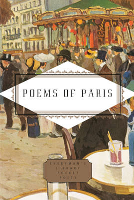 Poems of Paris (Everyman's Library Pocket Poets Series) Cover Image