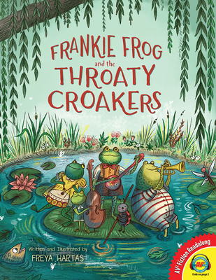 Cover for Frankie Frog and the Throaty Croakers (AV2 Fiction Readalong)