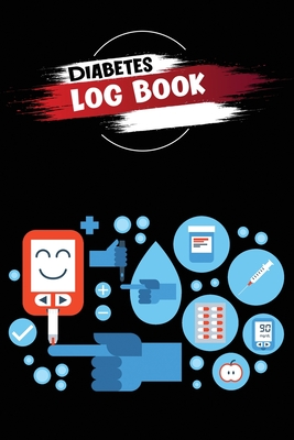 Diabetes Log Book: 2 Years Glucose Monitoring Logbook, Record Blood Sugar Levels (Before and After) Cover Image