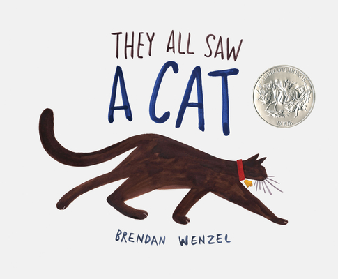 They All Saw A Cat (Cat Books for Kids, Beginning Reading Books, Preschool Prep Books) Cover Image