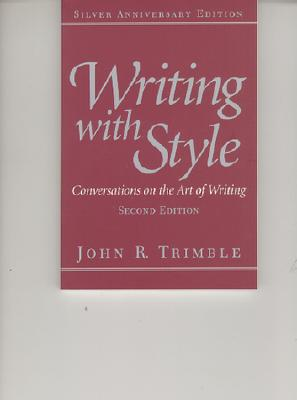Writing with Style: Conversations on the Art of Writing Cover Image